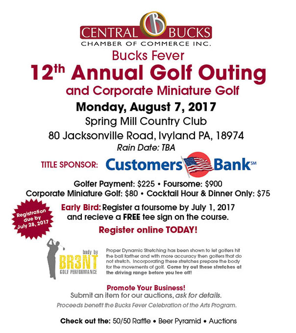 Golf Outing Bucks County